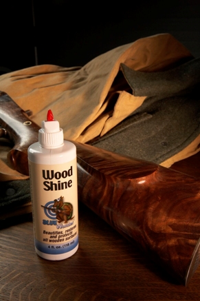 Blue Wonder Wood Shine