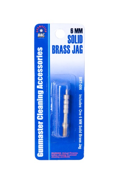 6mm Caliber Solid Brass Jag