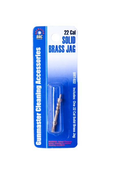 .22/.223 Caliber Solid Brass Jag