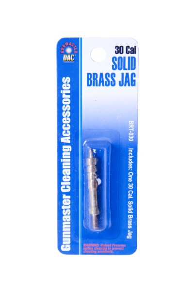.30 Caliber Solid Brass Jag