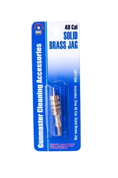 .40 Caliber Solid Brass Jag
