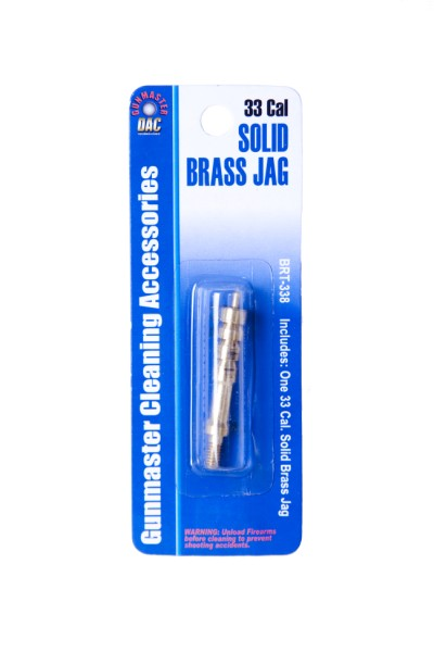 .338/8mm Caliber Solid Brass Jag