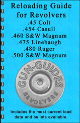 Reloading Guide for .25/.454/.460/.475/.480/.500 Revolvers