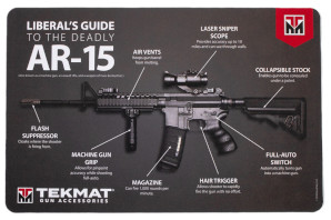Liberal's Guide to the Deadly AR-15 Handgun Cleaning Mat