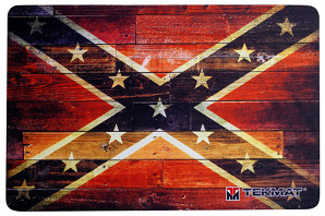 Confederate and Dixie Flag Gun Cleaning Mat
