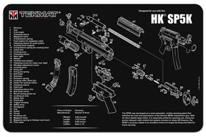 HK HK SP5K Gun Cleaning Mat