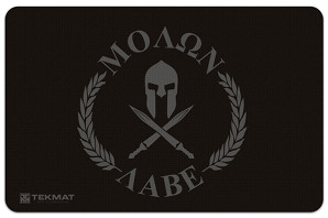 "Molon Labe ""Come and Take Them"" Gun Cleaning Mat"