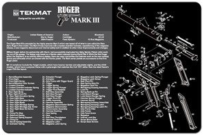 Ruger Mark III Gun Cleaning Mat
