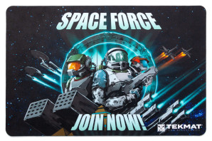 Space Force Handgun Cleaning Mat