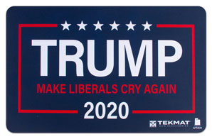 Trump 'Make Liberals Cry Again' Gun Cleaning Mat