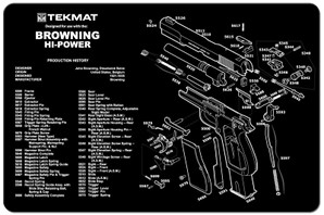 Browning Hi-Power Gun Cleaning Mat