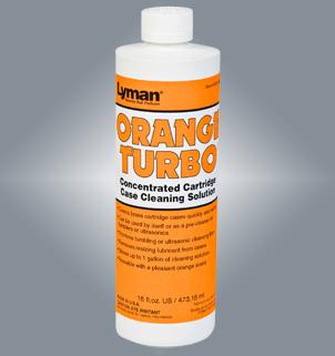 Lyman Orange Turbo® Concentrated Case Cleaning Solution 7631355
