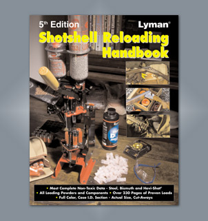 Lyman 5th Edition Shotshell Reloading Handbook 9827111