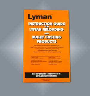 Lyman Reloading and Cast Bullet Users Guide 9837283
