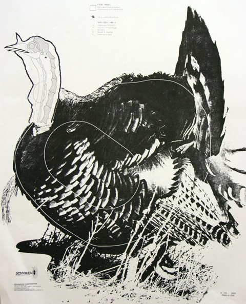 picture relating to Printable Turkey Target named Archery Aims